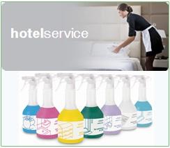 Preparaty hotelservice