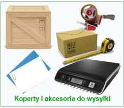 Koperty i akcesoria do wysyłki