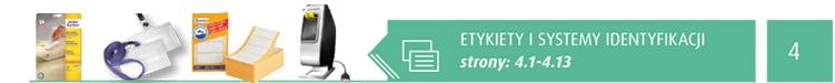 Etykiety i systemy identyfikacji strony:[4.1-4.13]